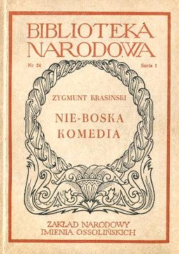 Krasiński Krasinski Nie-Boska komedia Janion Grabowska Biblioteka Narodowa Dramat polski wba0432
