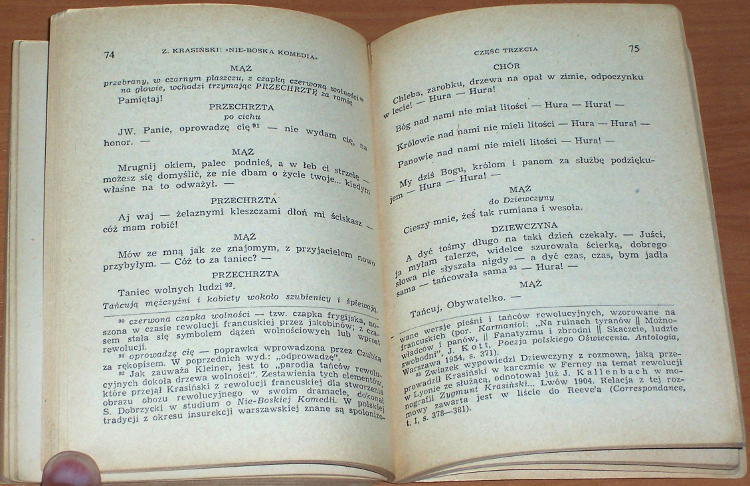 Krasinski-Zygmunt-Nie-Boska-komedia-Wroclaw-Zaklad-Narodowy-imienia-Ossolinskich-1966-Biblioteka-Narodowa-Seria-1-nr-24