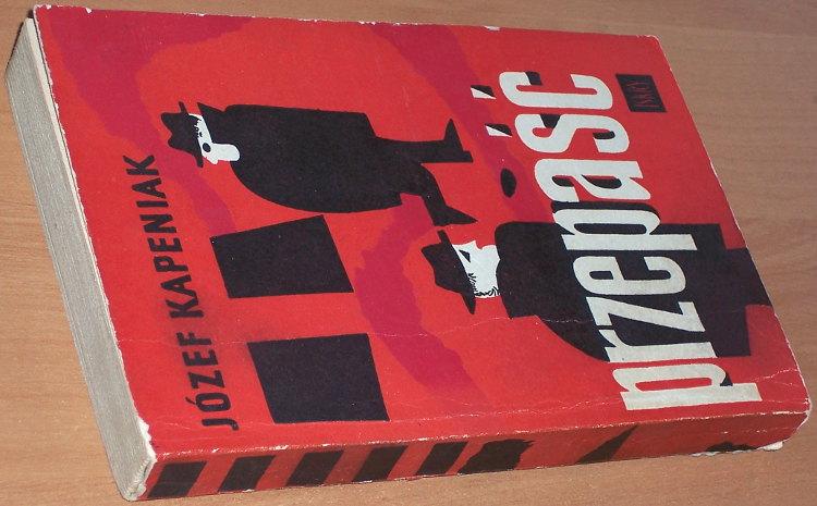 Kapeniak-Jozef-Przepasc-Powiesc-Warszawa-Iskry-1960