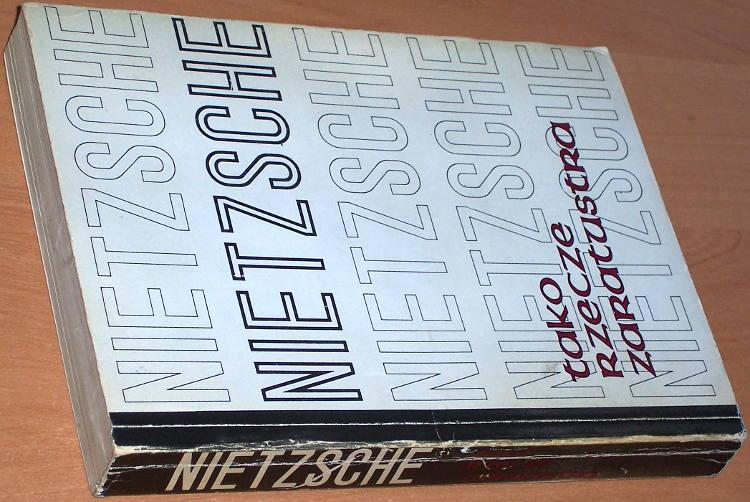 Nietzsche-Friedrich-Tako-rzecze-Zaratustra-Gdynia-Tenet-1991-Przeklad-Waclaw-Berent-Also-sprach-Zarathustra