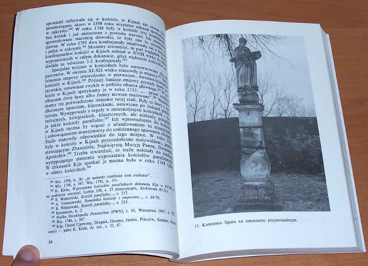 Olszewski-Daniel-Wisniowski-Eugeniusz-Parafia-Kije-Zarys-dziejow-Kielce-Kieleckie-Towarzystwo-Naukowe-1993
