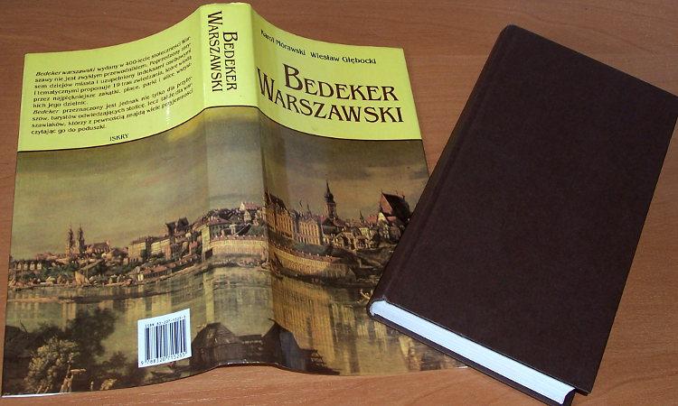 Morawski-Karol-Glebocki-Wieslaw-Bedeker-warszawski-W-400-lecie-stolecznosci-Warszawy-Warszawa-Iskry-1996