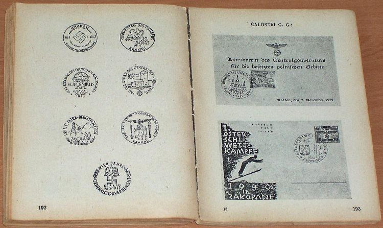 Mikstein-Stanislaw-oprac-Znaczki-Generalnego-Gubernatorstwa-i-polskie-Krakow-Dom-Handlowy-Pionier-1944-Filatelistyka