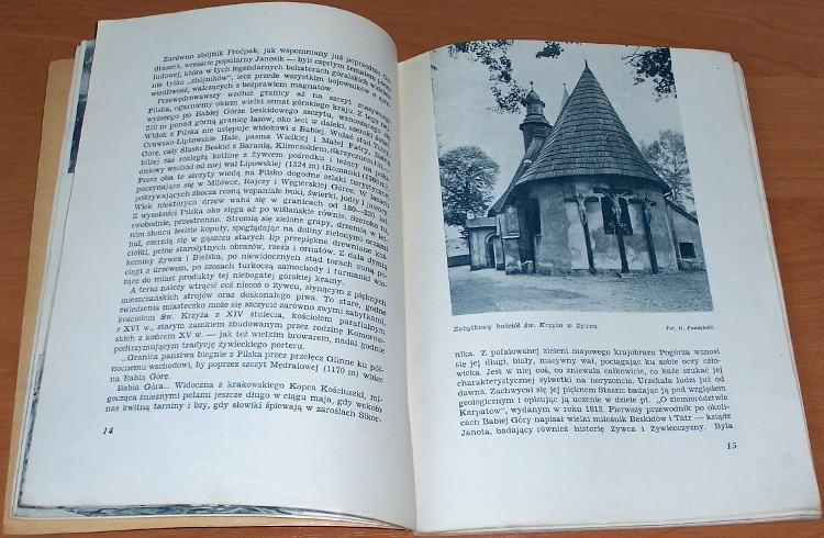 Pagaczewski-Stanislaw-Beskidy-Warszawa-Nasza-Ksiegarnia-1950-Biblioteka-Polskiego-Towarzystwa-Krajoznawczego-Piekno-Polski
