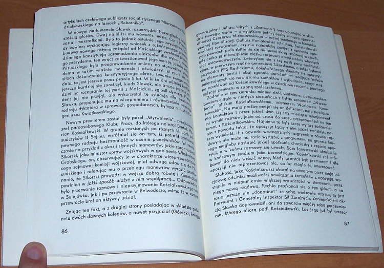 Popiel-Karol-Wspomnienia-polityczne-Warszawa-ODiSS-Osrodek-Dokumentacji-i-Studiow-Spolecznych-1983