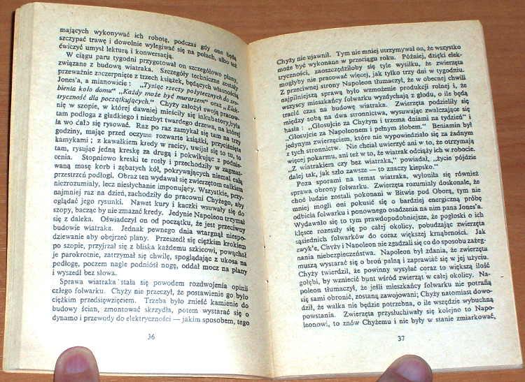 Orwell-George-Folwark-zwierzecy-Wyd-podziemne-1983-Anonim-okladka-kopia-wyd-Londyn-Odnowa-1974-Animal-Farm-bibula