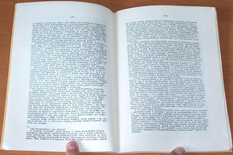 Szaruga-Leszek-Wlasnymi-slowami-Szkice-Warszawa-drukarnia-Glos-1979-Biblioteka-Glosu
