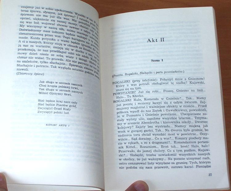 Gornicki-Gerard-Poszli-ci-ktorzy-powinni-Utwor-sceniczny-w-3-akt-Poznan-Wydawn-Poznanskie-1978-autograf-signed-autograph