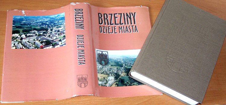 Brzeziny-Dzieje-miasta-do-1995-Lodz-PTH-Polskie-Towarzystwo-Historyczne-Zarzad-Miasta-1997-Badziak-Brzezin
