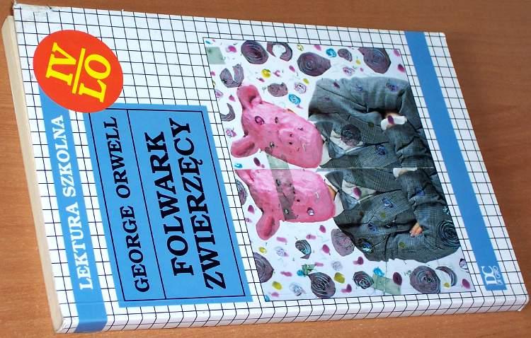 Orwell-George-Folwark-zwierzecy-wyd-I-Da-Capo-1996-tlum-Zborski-Animal-Farm