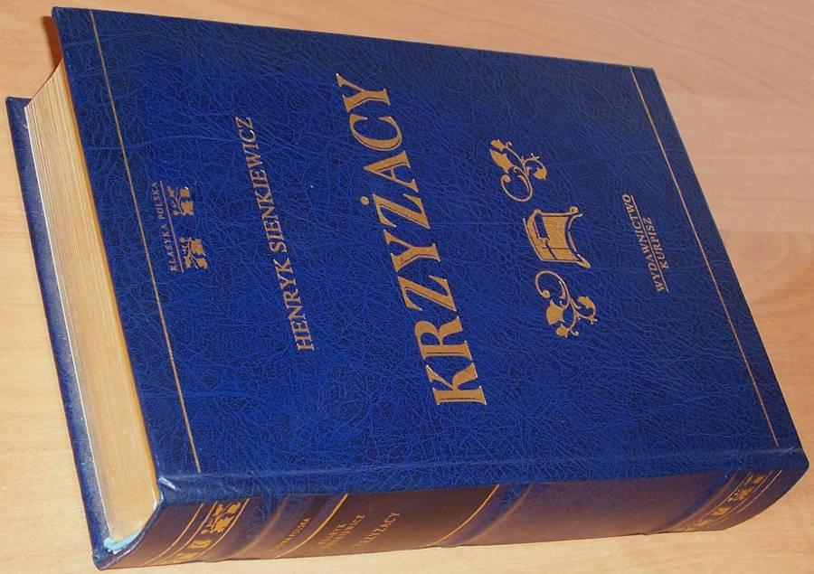 Sienkiewicz-Henryk-Krzyzacy-Poznan-Wydawnictwo-Kurpisz-2000-Klasyka-Polska-Wyd-luksusowe-zlota-kolekcja