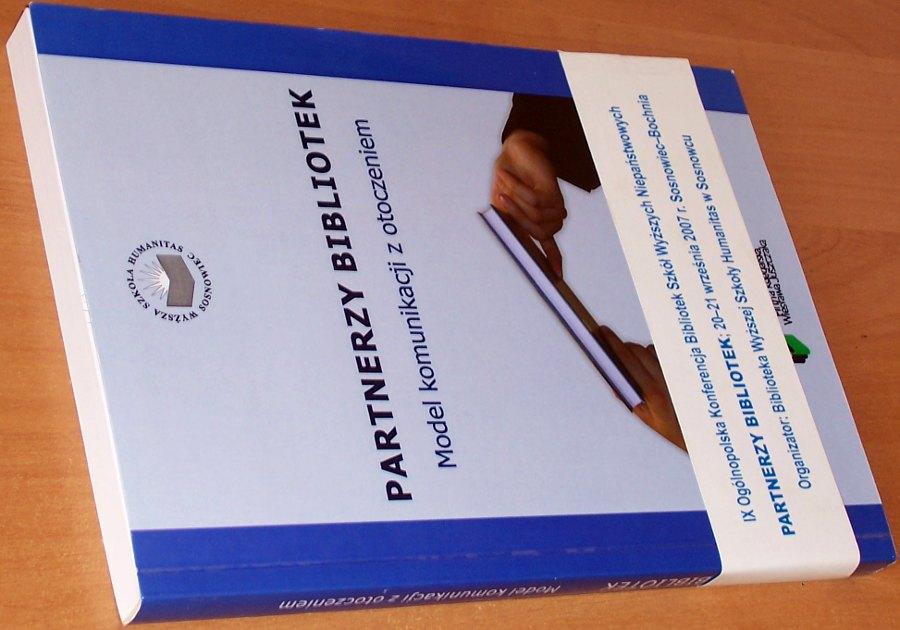 Partnerzy-bibliotek-Model-komunikacji-z-otoczeniem-Lodz-Firma-Ksieg-Wieslawa-Juszczyka-Ofic-Wydawn-Humanitas-2008