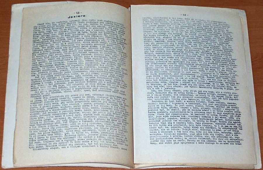 Maria-Jarota-pseud-Iwona-Smolka-Rozpad-Oficyna-Wydawnicza-Numer-Drugi-1983-Wydanie-bezdebitowe-podziemne-drugoobiegowe