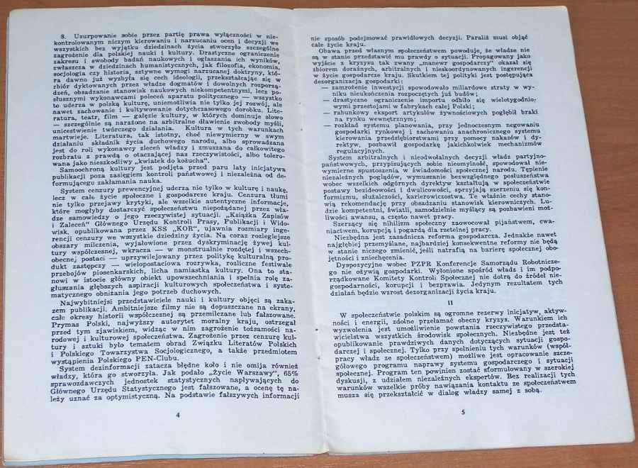 Komitet-Samoobrony-Spolecznej-KOR-Apel-do-spoleczenstwa-Warszawa-pazdziernik-1978-Londyn-Aneks-listopad-1978
