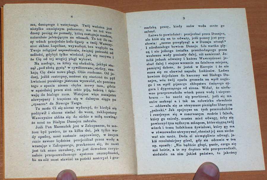 Rostafinski-Jozef-Jechac-czy-nie-jechac-w-Tatry-Krakow-Nakladem-autora-1883-reprint-1989