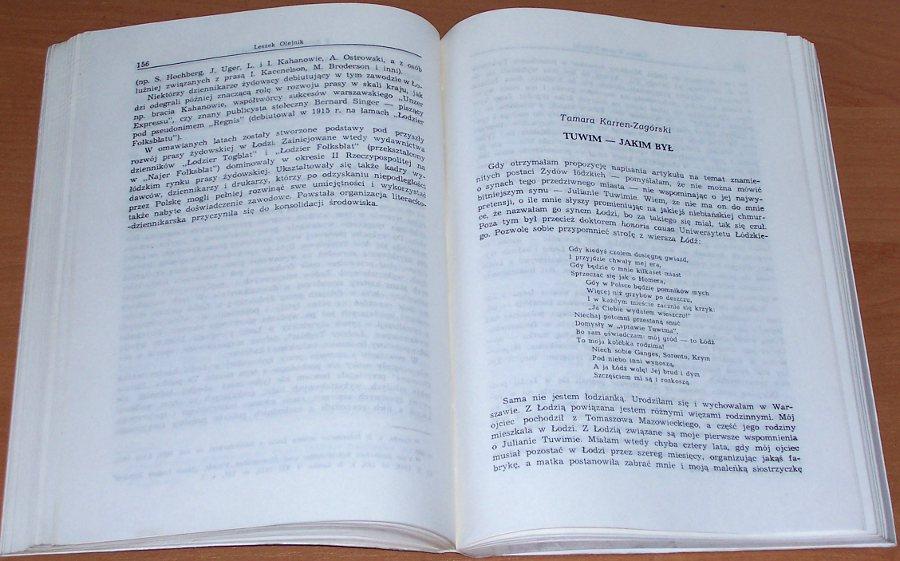 Dzieje-Zydow-w-Lodzi-1820-1944-Wybrane-problemy-Lodz-Wydawnictwo-Uniwersytetu-Lodzkiego-1991-Jews-Poland