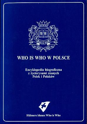 Who is who w Polsce Leksykon biograficzny Hübners Blaues Who is Who 3729000403 3-7290-0040-3 9783729000407 978-3-7290-0040-7 Polska Poland Polen biographical Lexicon Biographische Lexikon wba0678