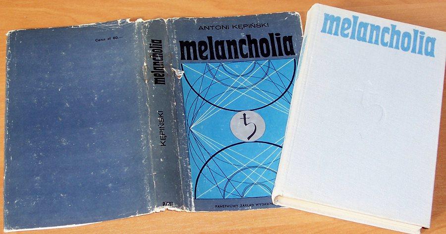 Kepinski-Antoni-Melancholia-Warszawa-PZWL-Panstwowy-Zaklad-Wydawnictw-Lekarskich-1974-Psychopatologia-Psychiatria