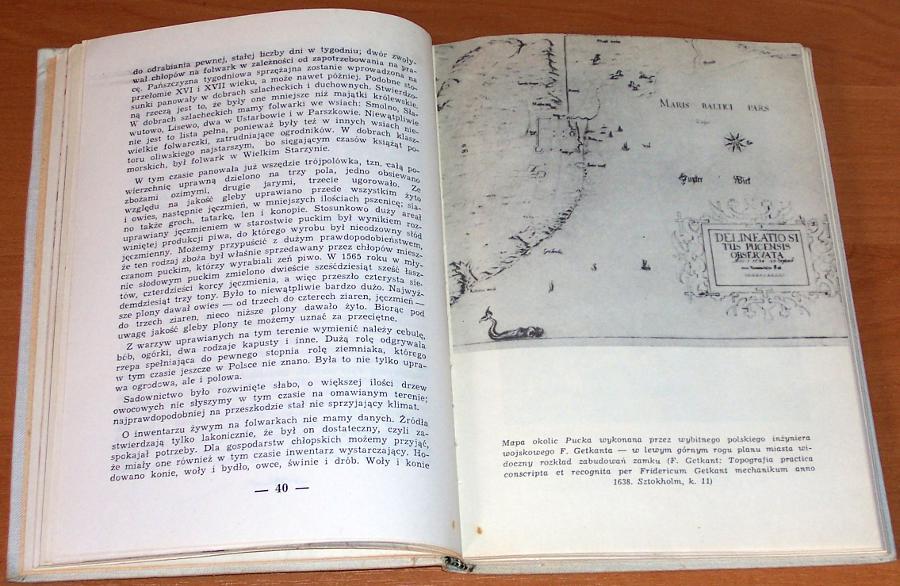 Odyniec-Waclaw-Dzieje-ziemi-puckiej-Gdynia-Wydawnictwo-Morskie-1962-Puck-Putzig-Pomorze
