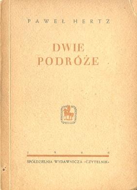 Hertz Dwie podróże poezja poetry wiersze wba0708