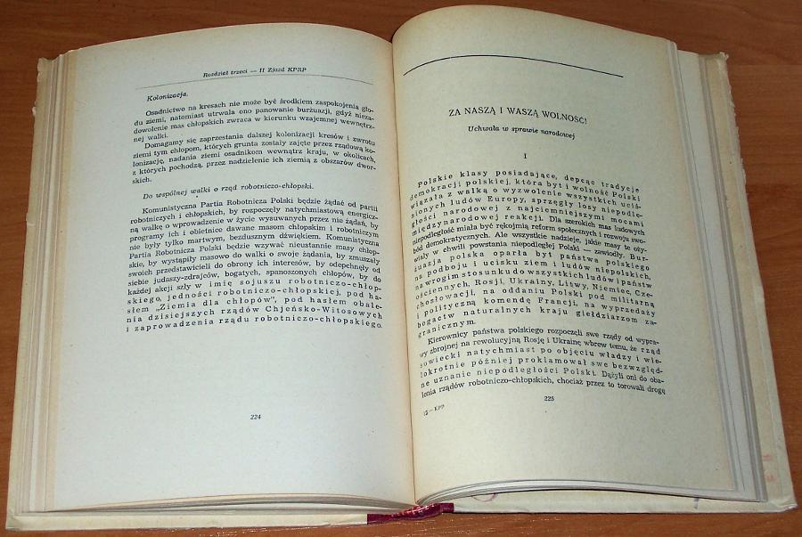 KPP-Uchwaly-i-rezolucje-T-1-I-II-Zjazd-1918-1923-Wyd-2-Wwa-Ksiazka-i-Wiedza-1954-Komunistyczna-Partia-Robotnicza-Polski
