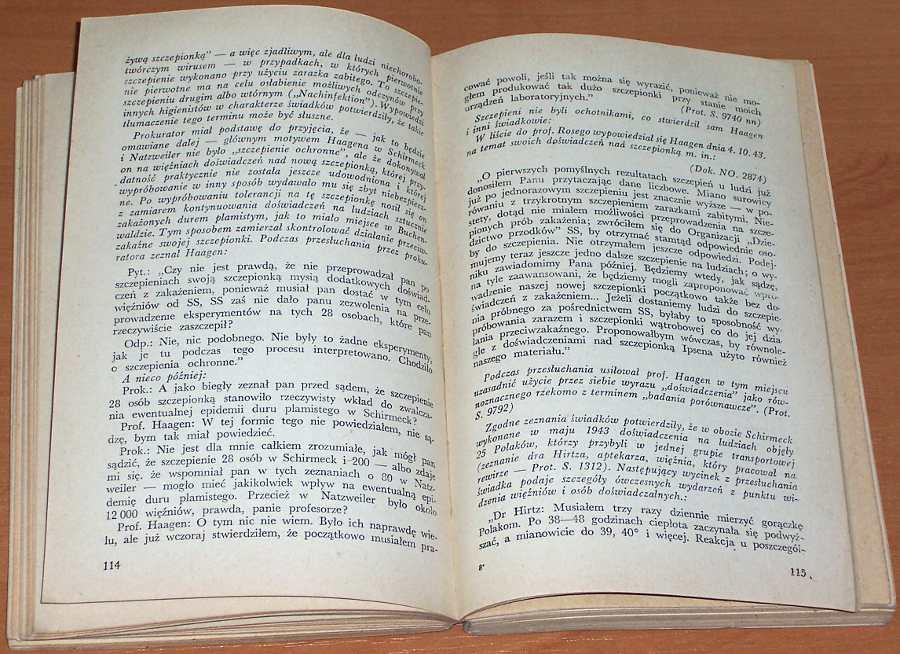 Mitscherlich-Mielke-Nieludzka-medycyna-Dokumenty-procesu-norymberskiego-przeciwko-lekarzom-PZWL-1963-Proces-norymberski