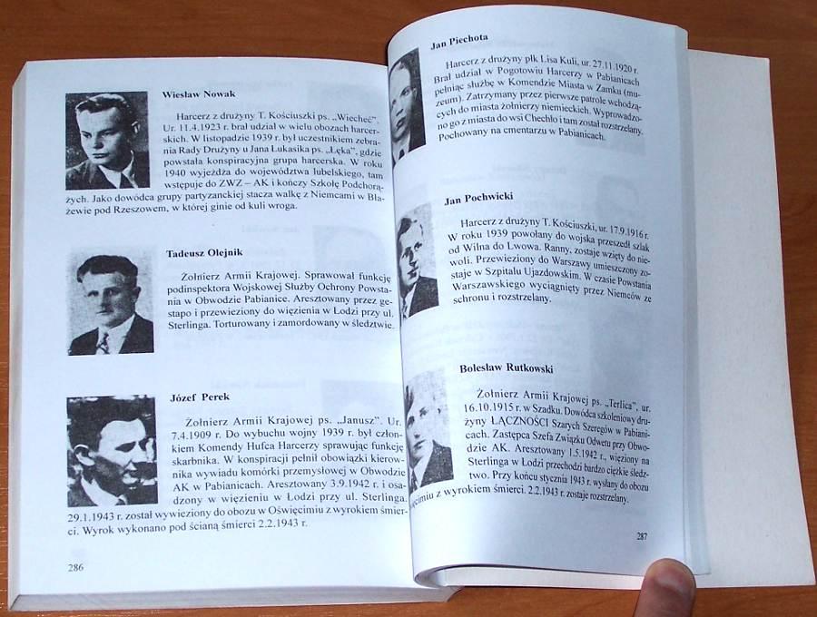 Lubonski-Zygmunt-Debich-Eugeniusz-Szare-Szeregi-Armia-Krajowa-Narodowa-Organizacja-Wojskowa-w-Pabianicach-Pabianice-2001
